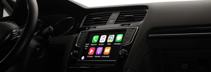 fonctionnalité CarPlay